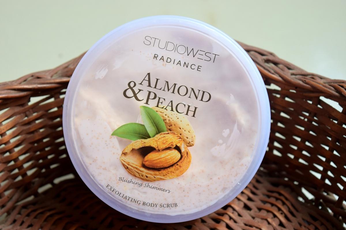 Studiowest Almond & Peach Exfoliating Body Scrub
