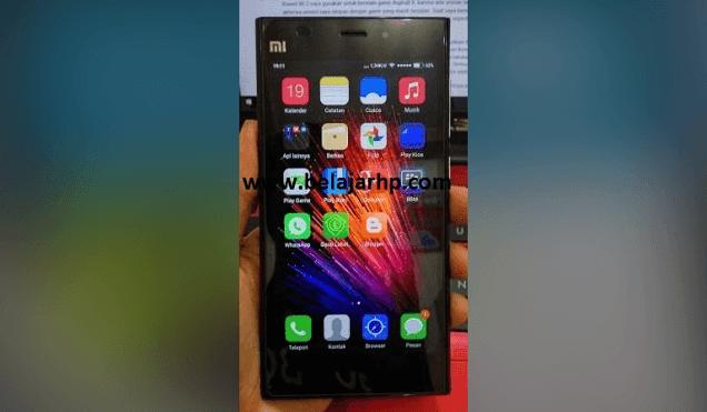 Solusi Xiaomi MI 3 Red Blink