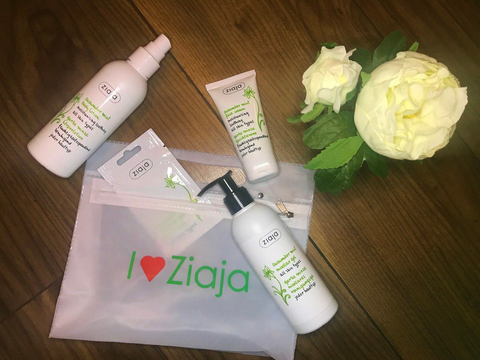 Ziaja Cucumber Mint Collection Review