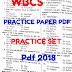 WBCS 2018 Practice Set Pdf Download | WBCS Preliminary 2018 Exam Practice Question Paper Pdf Part 2 Download