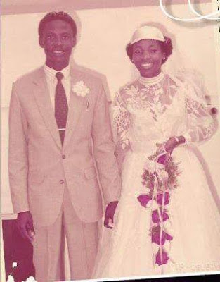 Pastor Tunde Bakare and wife celebrate 32nd wedding anniversary, share throwback photos from their wedding