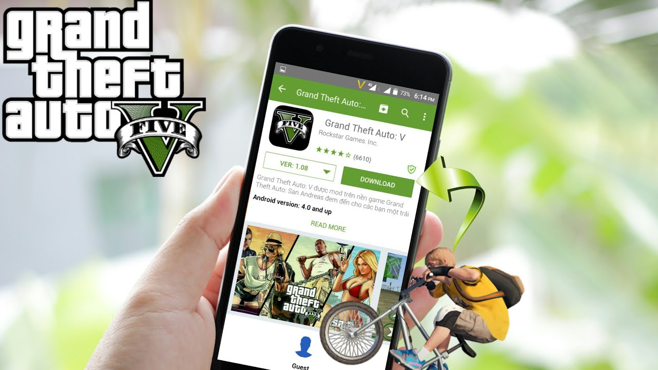 DOWNLOAD GTA 5 ON ANDROID FROM PLAY STORE