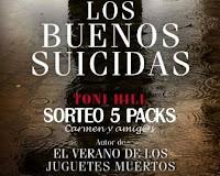 Ganadora del Sorteo Los buenos suicidas [Carmen y amig@s]