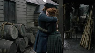 Jamie por fin conoce a su hija Brianna en el 4x09 de Outlander