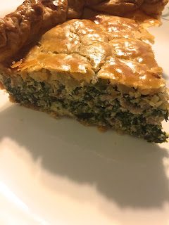 Sausage and Spinach Pie: Savory Sweet and Satisfying