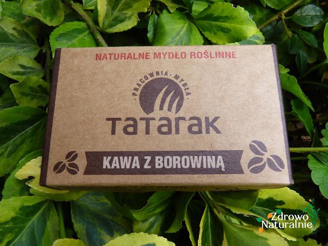 Pracowania Mydła Tatarak - Mydło kawa z borowiną