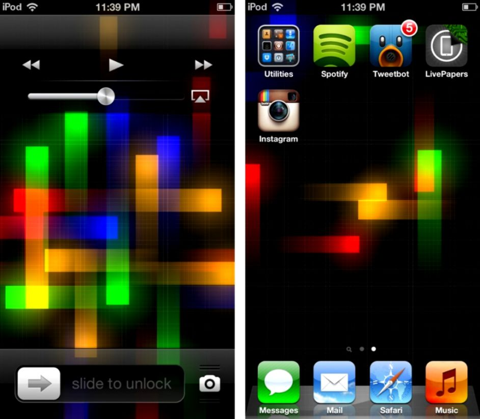 download moving wallpapers for iphone 4s