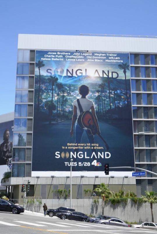 Giant Songland series premiere billboard