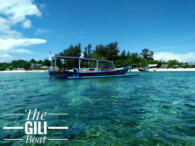 The Gili Trawangan Boat