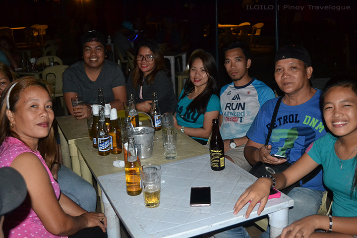 With my buddies and my wife's relatives at MO2 Bar