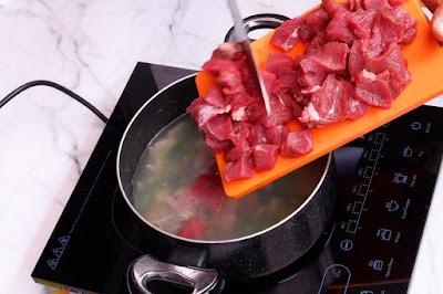sup daging enak untuk masak