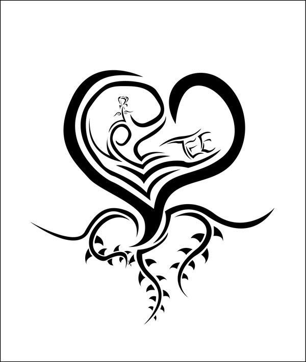 hannikate: love hearts tattoos designs part-32