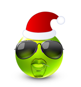 Christmas Smiley Icon 23