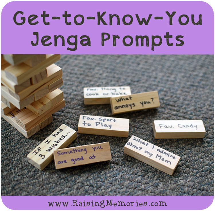 Jenga Game Questions