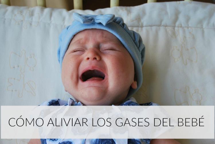 como aliviar gases bebe