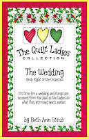 quilt pattern and story the wedding book eight