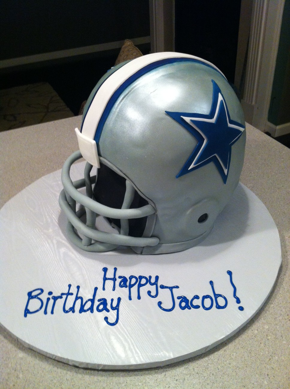 Cakes By Nancy Dallas Cowboy Helmet