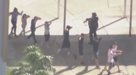 Florida police chief tells officers to 'quit now' if they wouldn't 'run towards the gunfire'