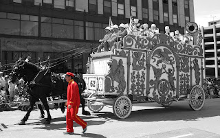 Bandwagon In A Parade