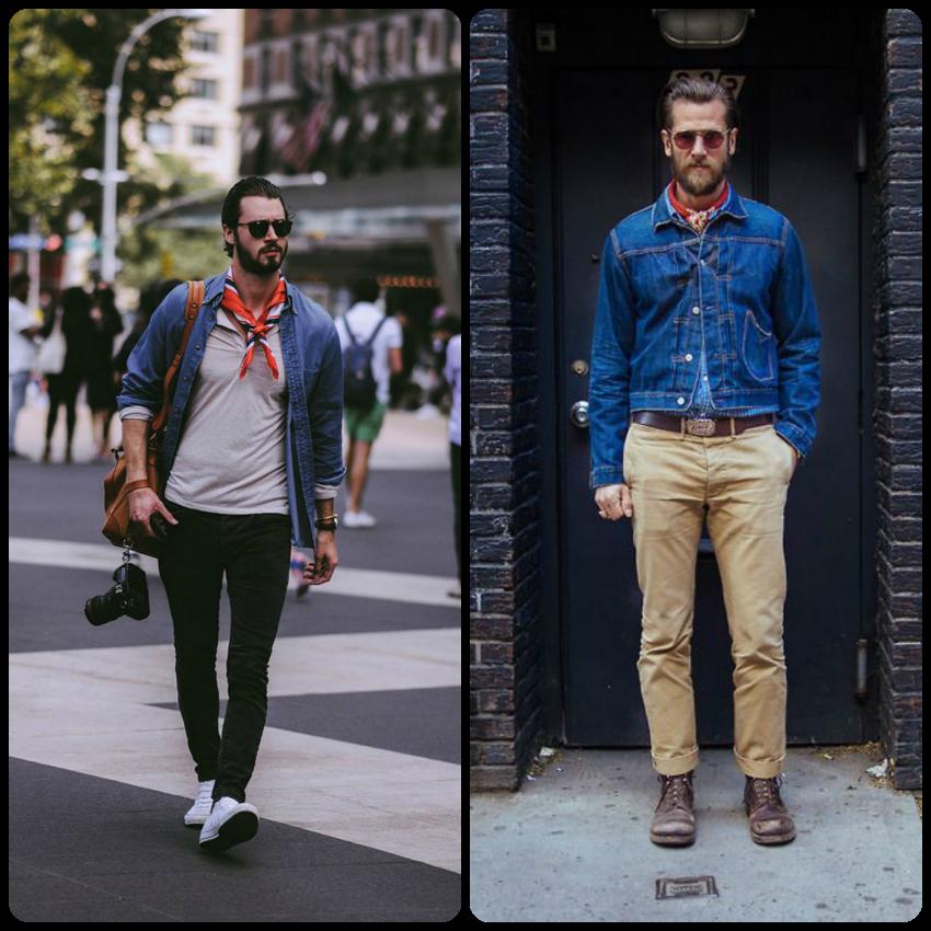 mejores ofertas en despeje elegir original Javito&Cool Moda masculina: Trend alert: pañuelo al cuello