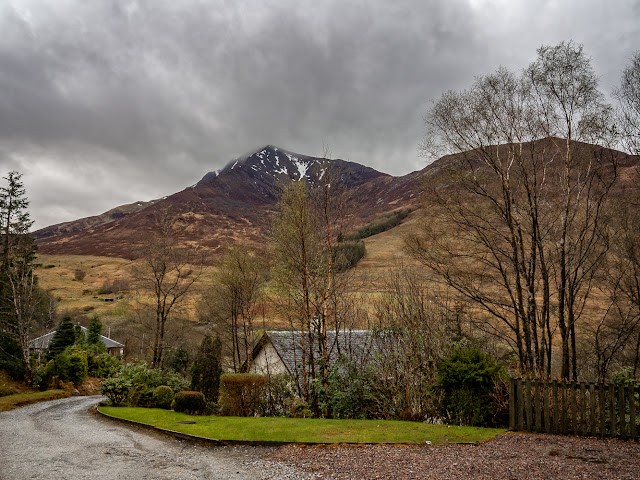 Photo of the view from the cottage in Ballachulish