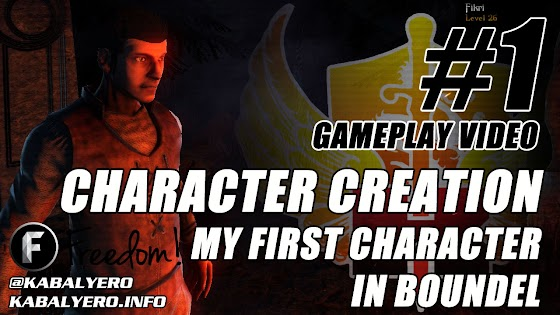 Boundel Gameplay #1 ★ Character Creation ★ My First Character
