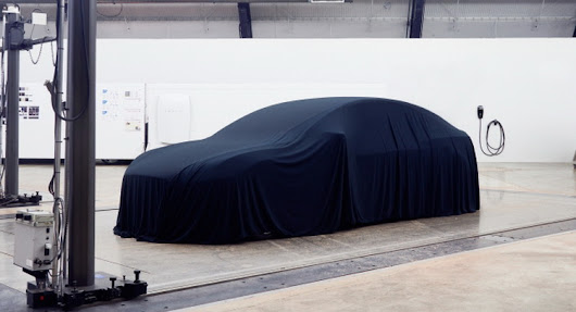 This Is Probably The First Image Of The Tesla Model 3