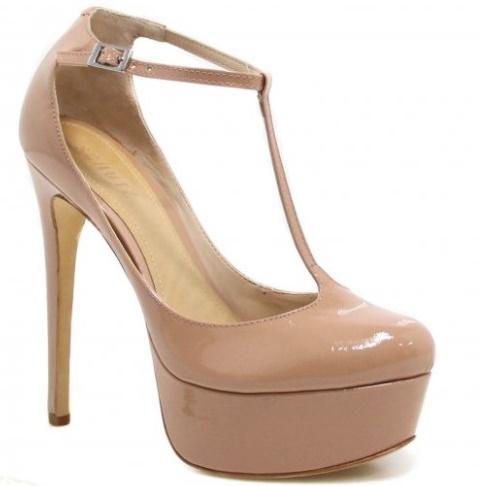 18ca46bff Sapato Schutz Scarpin Salto Alto Verniz: Maravilhoso né? Nude é sempre um  clássico, combina com tudo e não tem erro! Fica lindo com qualquer  composição.