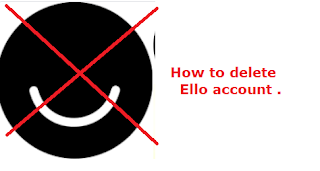 Delete your Ello account. We help to understand, how to delete an Ello account.