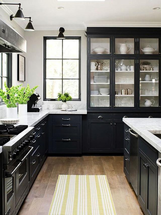 Le cucine nere hanno carattere, eleganza e una certa raffinatezza