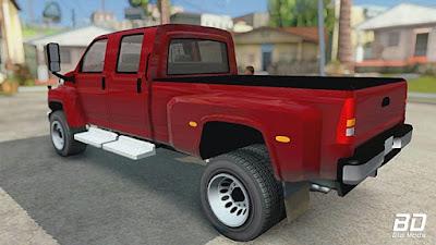 Chevrolet Kodiak C4500 para GTA San Andreas - Traseira