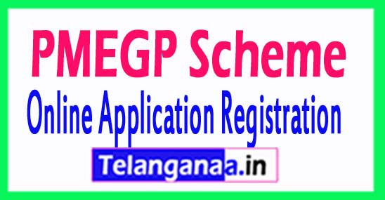 PMEGP Prime Minister Employment Generation Programme Online Application Registration 2018