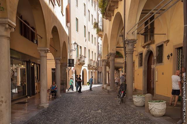 Ghetto Padua barrio judio Padova Italia viaje