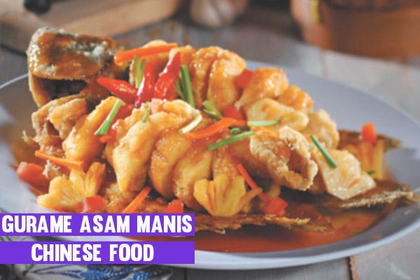Cara Membuat Dan Resep Gurame Asam manis Chinese Food