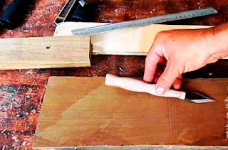 Cuchilla para marcar madera