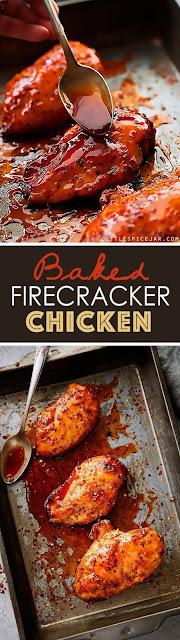 Baked Fire cracker Chicken