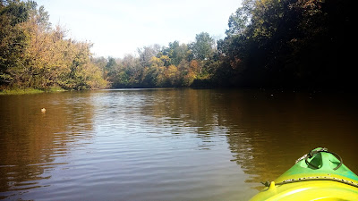 Kayaking Shelby Lake