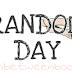 Random Day: Manías lectoras. ¿Nos parecemos?