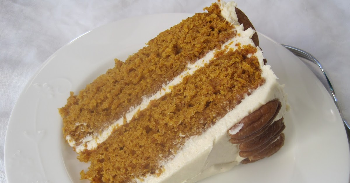 Making Pumpkin Cake With A Spice Acke Mix