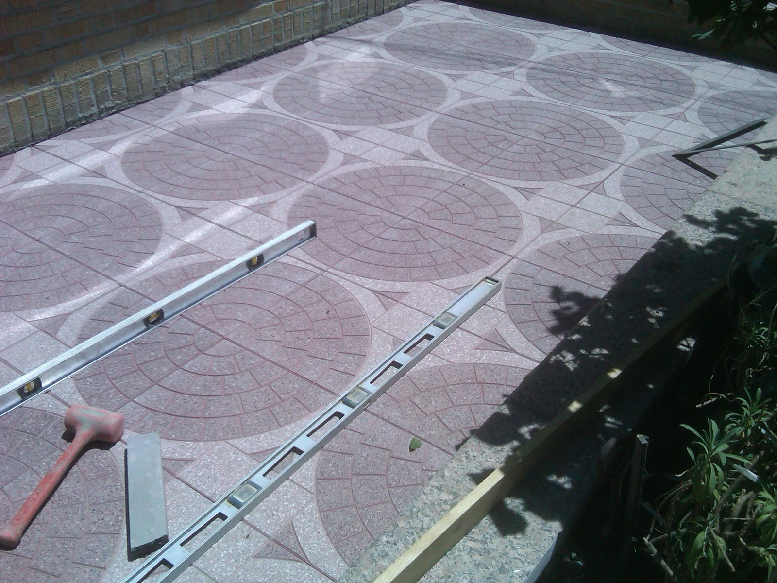 JCK Contracting Corp: Patio Blocks Project