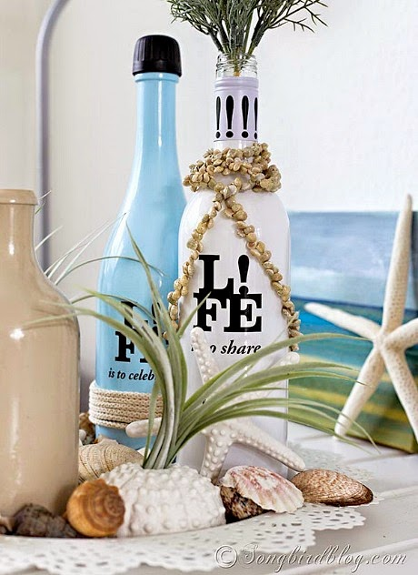 Decorative Wine bottle Decor Idea