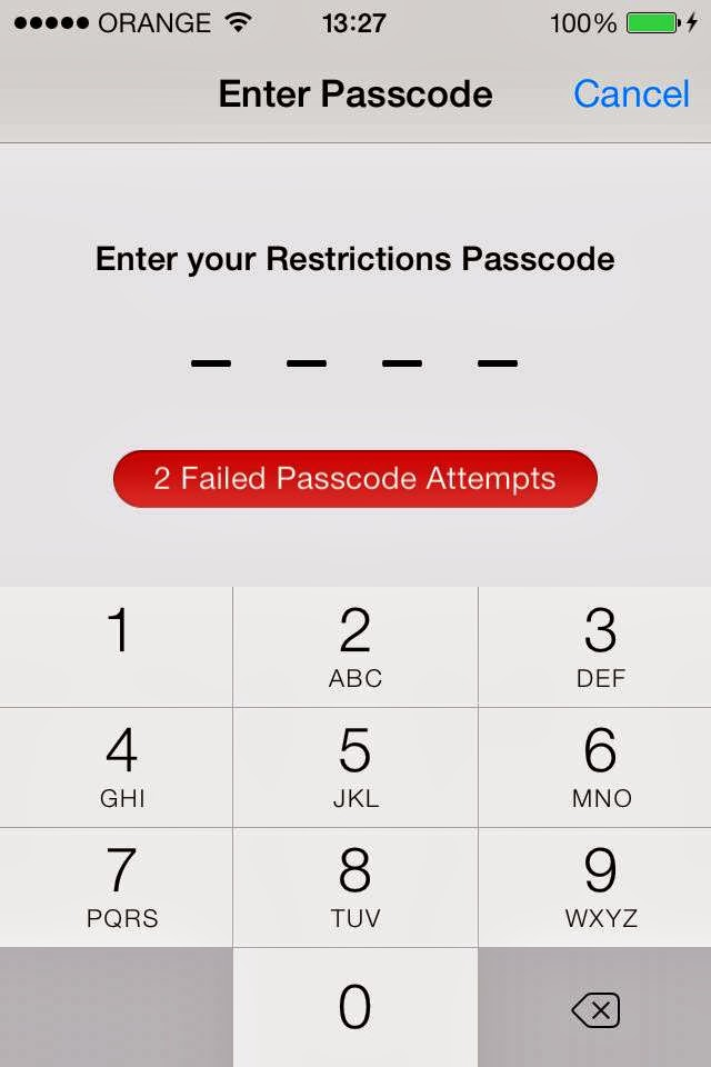 What if you forgot your ipad restrictions passcode | How to