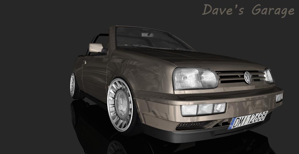 Dave 39 s garage volkswagen golf iii cabrio for Garage volkswagen 94 creteil