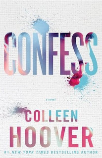 Confess by Colleen Hoover book cover new adult romance contemporary