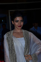 Samantha Ruth Prabhu cute in Lace Border Anarkali Dress with Koti at 64th Jio Filmfare Awards South ~  Exclusive 052.JPG