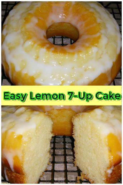 Easy Lemon 7-Up Cake