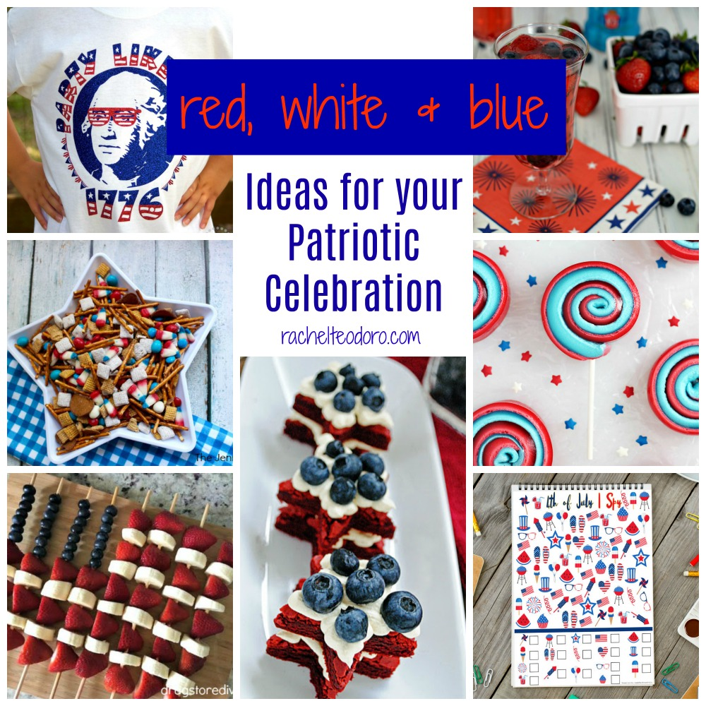 patriotic, veteran, holiday, party ideas, appetizers