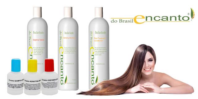 """Zapomnij o prostowaniu włosów! Zestaw do keratynowego prostowania włosów """"Encanto do Brasil"""" - opinie"""