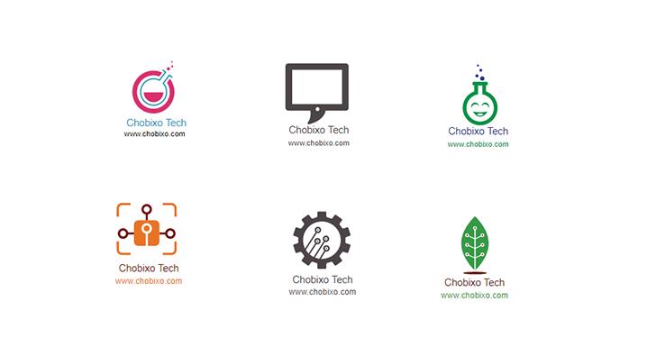 أفضل مواقع تصميم شعارات Logo أون لاين تدعم العربية Chobixo Tech