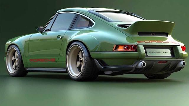 Amazing Porsche 911 Singer Williams engine with 500 HP